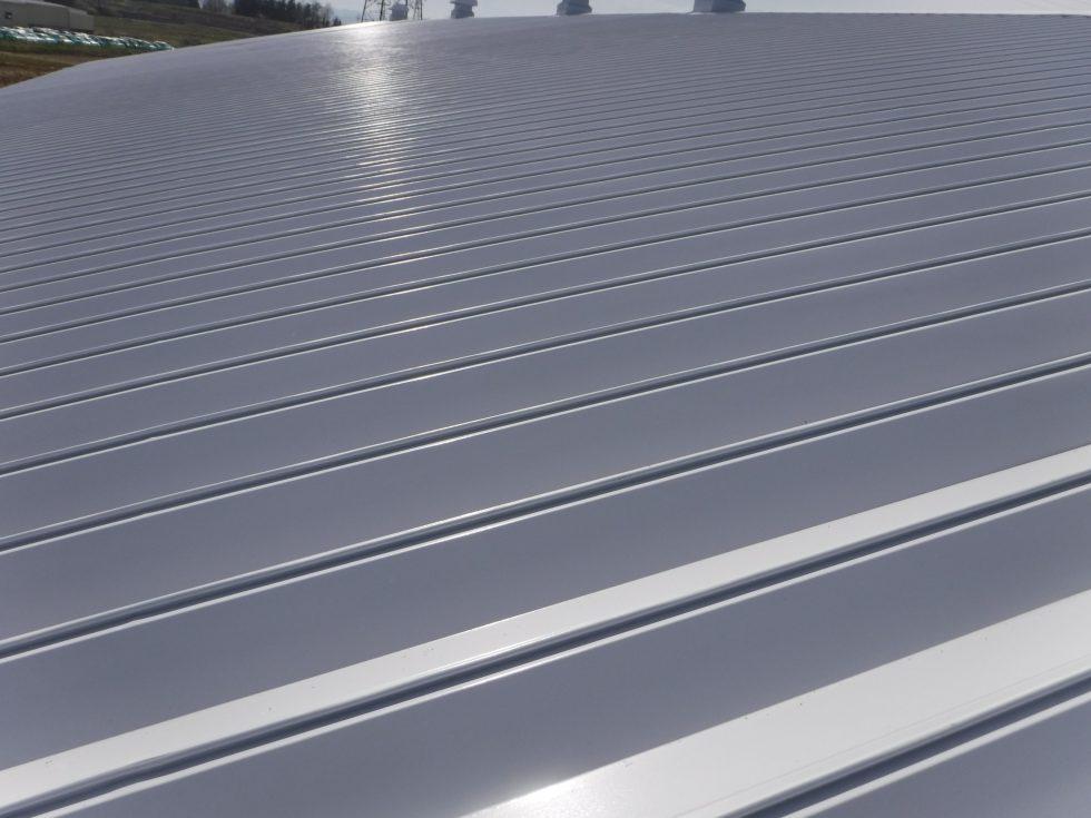 【本宮市】某工場 屋根塗装工事