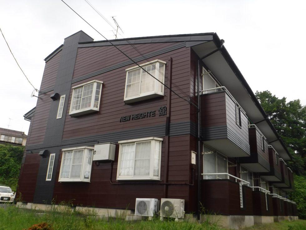 【本宮市】某アパート 屋根外壁他塗装工事