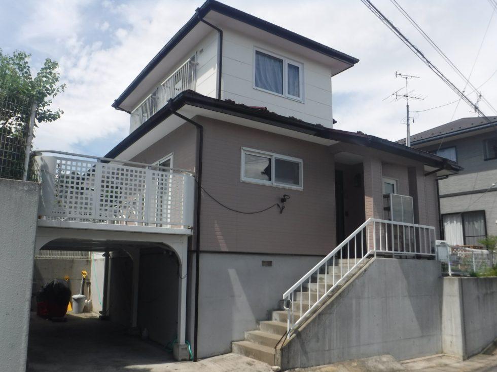 【本宮市】K様邸 屋根外壁他塗装工事