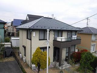 【福島市】S様邸 屋根外壁他塗装工事