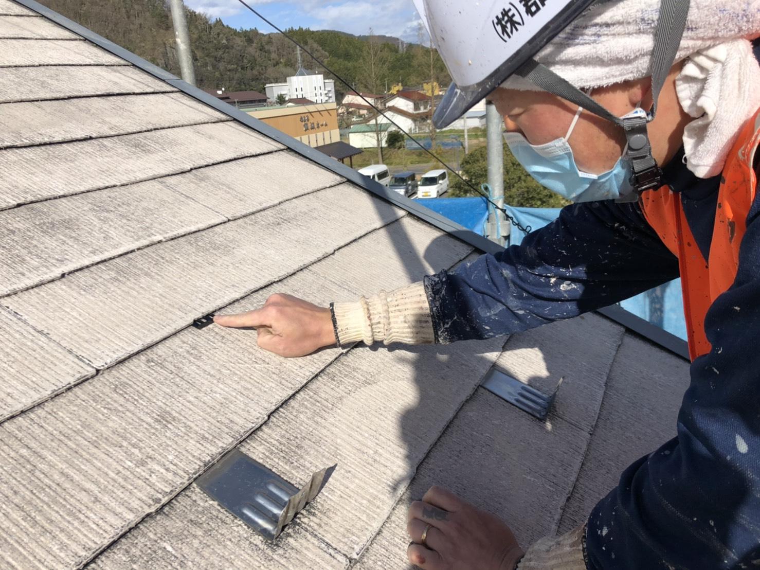 【福島市】E様邸 屋根塗装工事
