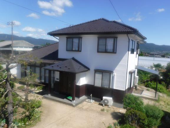 【伊達市】M様邸 屋根外壁塗装工事