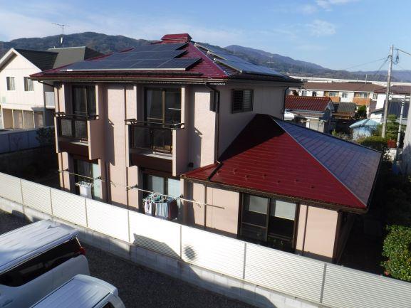 【伊達市】A様邸 屋根外壁他塗装工事