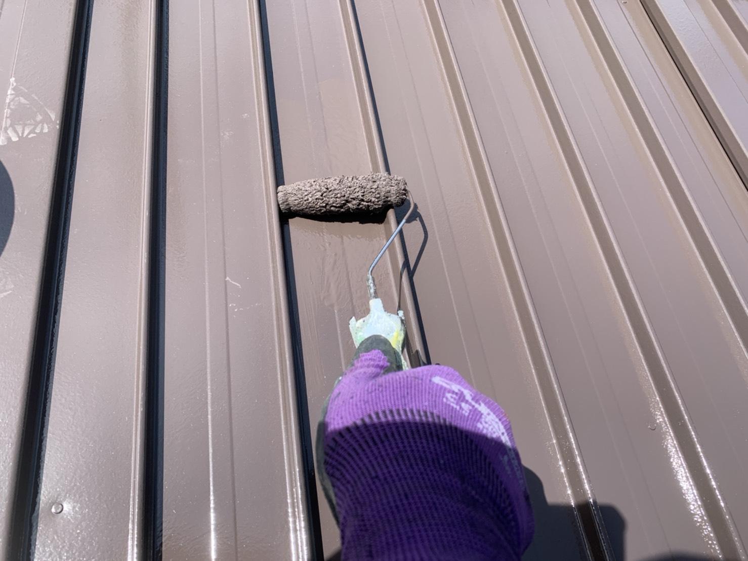 【福島市】N様邸 物置塗装工事