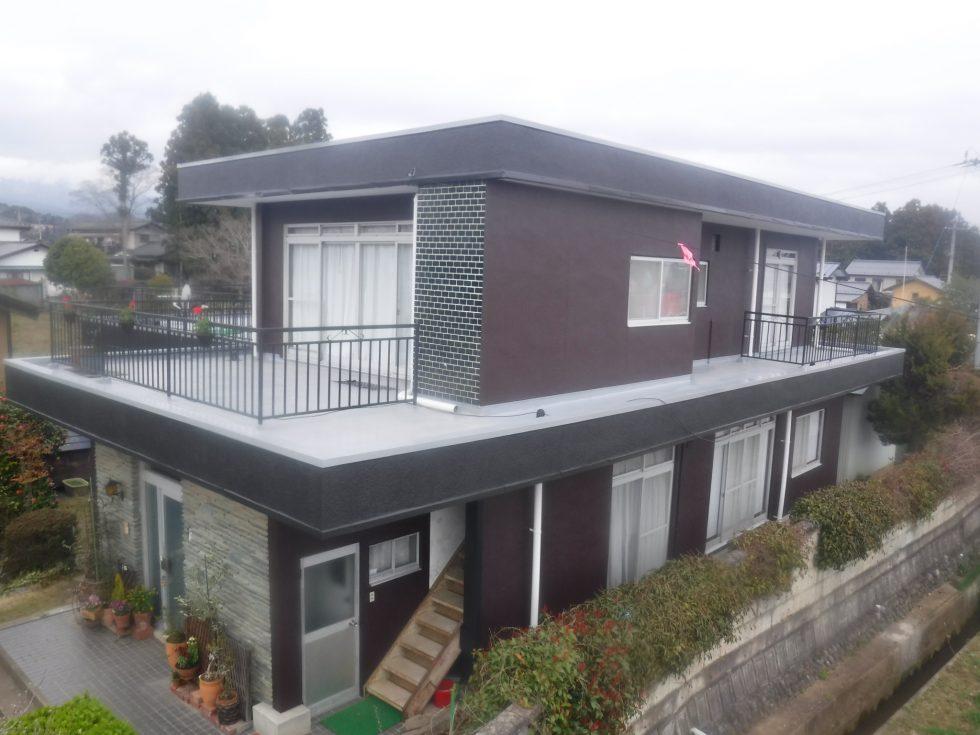 【福島市】E様邸 屋上防水外壁他塗装工事