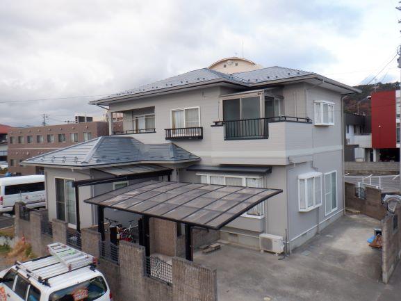 【福島市】 H様邸 屋根外壁他塗装工事