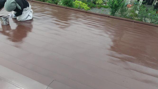 【福島市】M様邸 屋根塗装工事