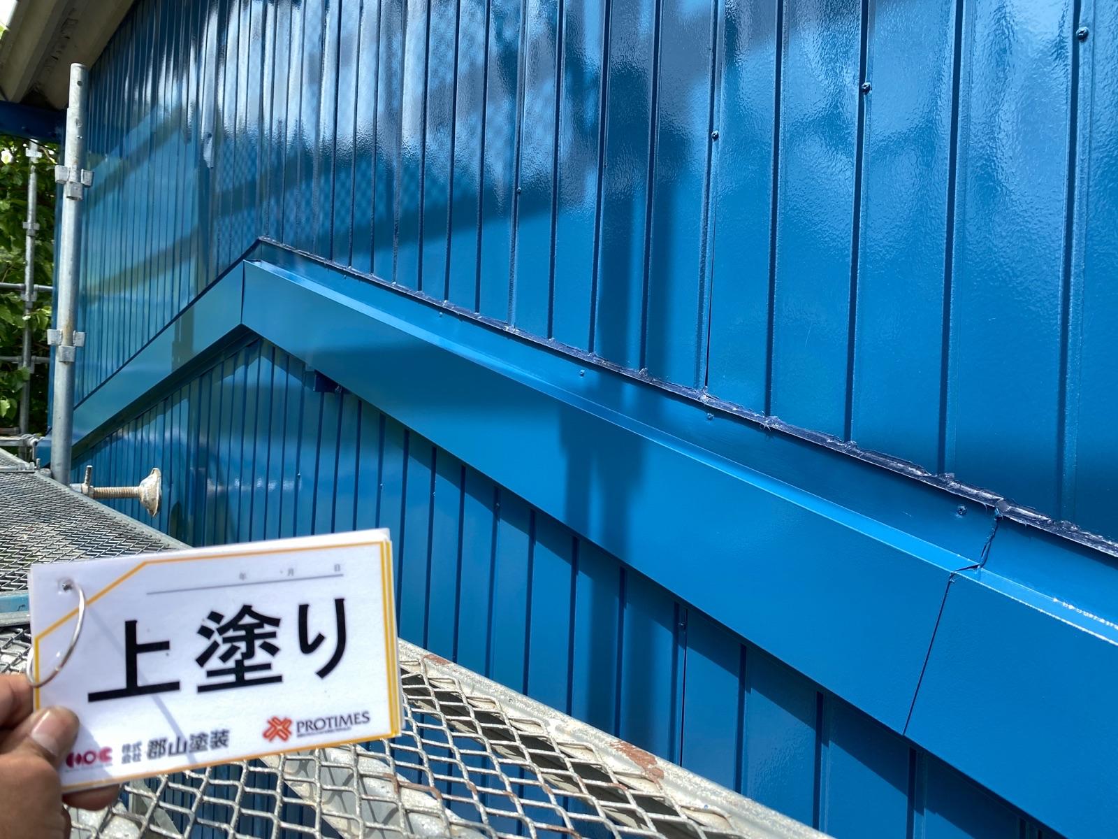 【福島市】K様邸 倉庫塗装工事