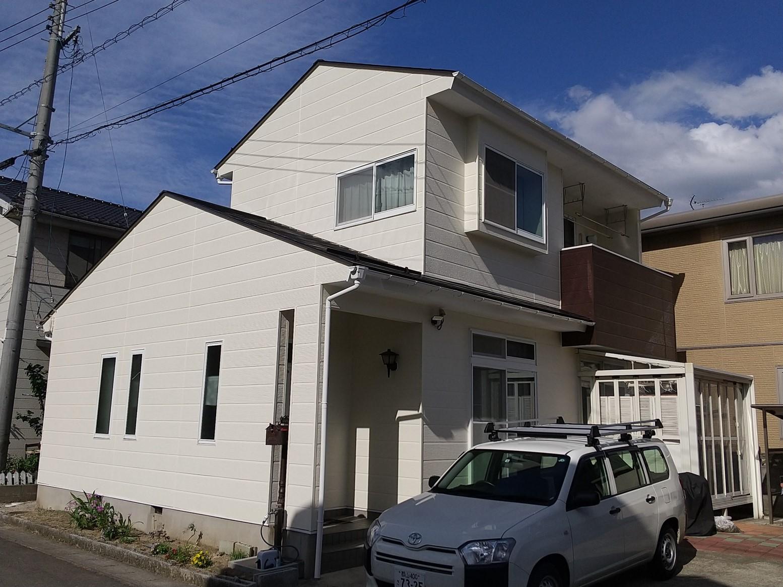 【福島市】G様邸 屋根外壁他塗装工事
